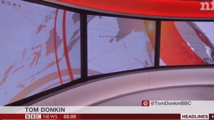 BBC anchor has absolute shitter to begin news programme
