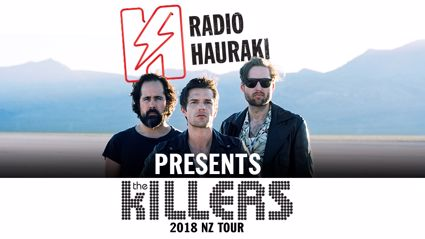 Radio Hauraki presents The Killers NZ Tour