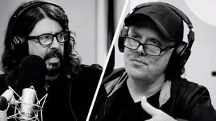 Dave Grohl meets Lars Ulrich