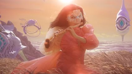 "Watch the trippy new video from Björk for ""The Gate"""