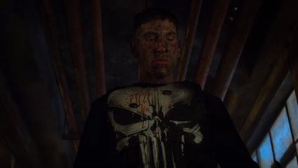 The new trailer for 'The Punisher' features blood & Metallica