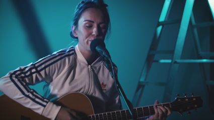 "Watch Amy Shark play ""Drive You Mad"" live"