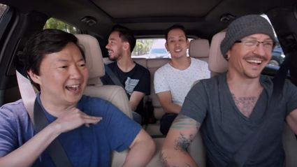 Watch Linkin Park's Carpool Karaoke shot a week before Chester Bennington's death
