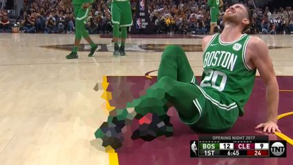 NBA player Gordon Hayward suffers horrific leg injury