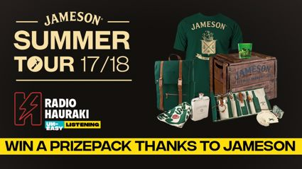Be in to win a prizepack thanks to Jameson!