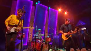 Watch PUP full live performance on The Chris Gethard Show