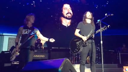 "Watch Dave Grohl play ""Paradise City"" live with GNR"