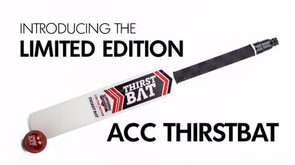 Introducing the Limited Edition ACC 'ThirstBat'