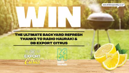 Win the ultimate backyard refresh thanks to DB Export Citrus