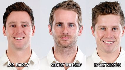 The ACC's official Blackcaps team nicknames for 1st Test vs West Indies