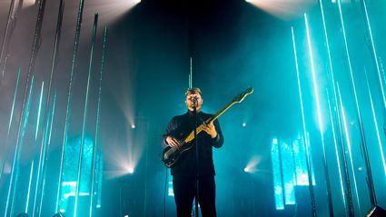 Photos of alt-J live in Auckland