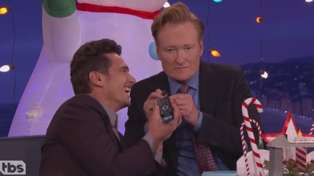 Watch Dr. Steve Newall's call to James Franco live on Conan O'Brien
