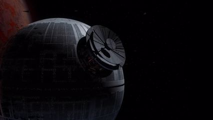 Watch a timelapse of the Death Star creation
