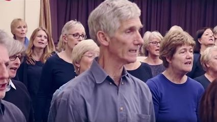 """Watch this haunting choir cover of Foo Fighters' tune """"Come Alive"""""""