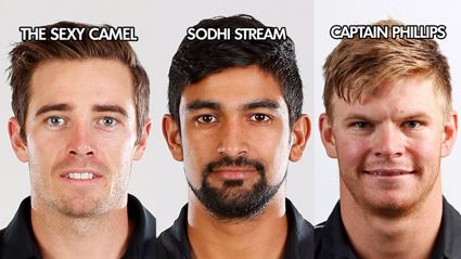 The official Blackcaps T20 squad nicknames vs the West Indies