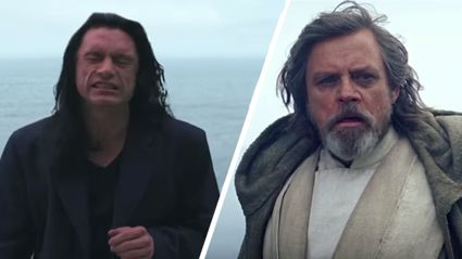 Please enjoy this Star Wars & Tommy Wiseau mashup