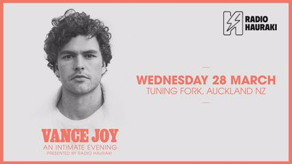 Win tickets to Vance Joy live in New Zealand