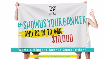 Show Us Your Banner and WIN $10K