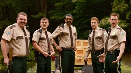 Watch the official trailer for 'Super Troopers 2'