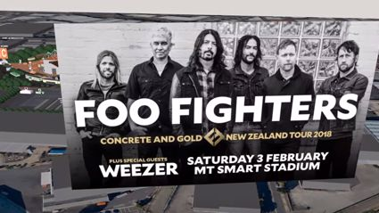 Here's the map for Saturday night's Foos & Weeze gig