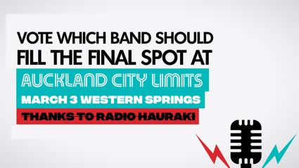 Vote for which band should fill the final spot at Auckland City Limits