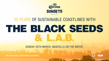Corona Sunsets Presents 10 Years of Sustainable Coastlines w/ The Black Seeds & L.A.B.