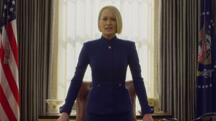 Watch the first teaser for the final season of 'House Of Cards'