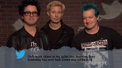 Watch Green Day, Blink 182, Depeche Mode & more get destroyed in the latest Mean Tweets