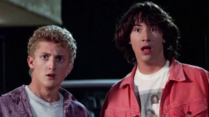 Watch Keanu Reeves & Alex Winter talk about 'Bill & Ted 3'