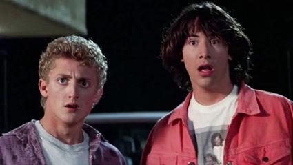 Watch Keanu Reeves & Alex Winter talk about 'Bill & Ted 3'