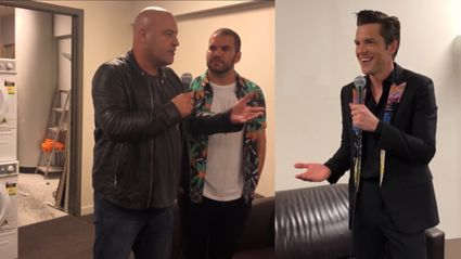 Leigh Hart & The Night Wolf interview Brandon Flowers of The Killers