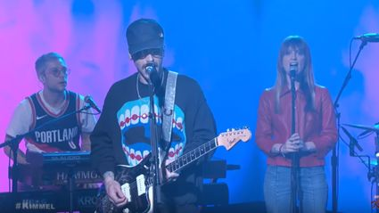 "Watch Portugal. The Man play ""Feel It Still"" & ""Live in the Moment"" on Jimmy Kimmel Live"