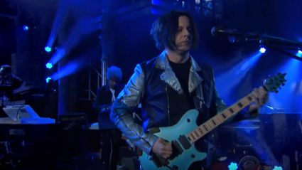 "Watch Jack White perform ""Ice Station Zebra"" live on 'The Late Show'"