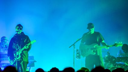 Photos of Portugal. The Man live in Auckland