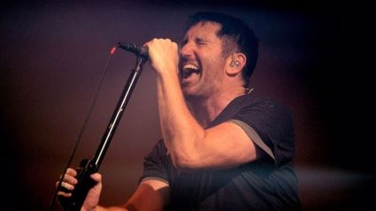 "Listen to the new track from Nine Inch Nails called ""God Break Down The Door"""