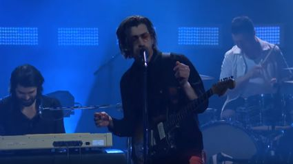 "Watch Arctic Monkeys play ""She Looks Like Fun"" live"