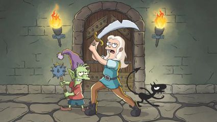 Here's the first look at Simpsons creator Matt Groening's new show 'Disenchantment'