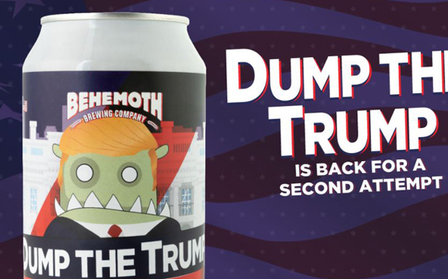 Pro Trump Groups Target Kiwi Brewery Over Dump The Trump