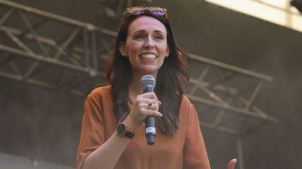 Matt & Jerry talk P Houses & Parliament Baby Deliverers with PM Jacinda Ardern