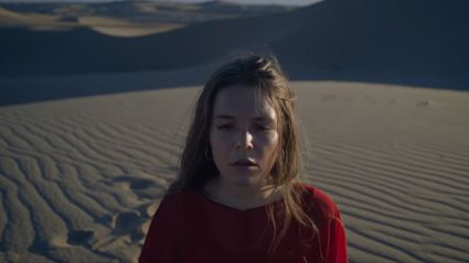 "Watch the video of the new track ""Fallingwater"" by Maggie Rogers"