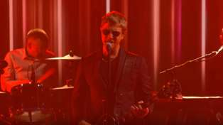"""Watch Interpol play """"The Rover"""" live on 'The late Show with Stephen Colbert'"""