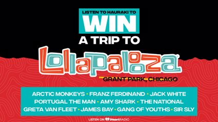 Win a trip to Lollapalooza 2018