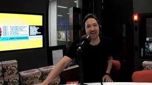 Jon Toogood co-hosts the Matt & Jerry Show