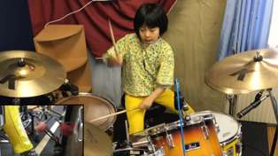 """Watch this 8-year-old girl crush Led Zeppelin's """"Good Times Bad Times"""""""