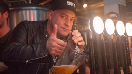 Photos of the Radio Hauraki Brewery Tour at Dr. Rudi's in Auckland