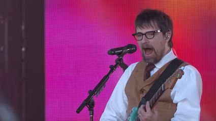 "Watch Weezer play ""Africa"" on Jimmy Kimmel Live"