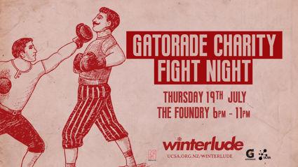 CHRISTCHURCH: UCSA Winterlude - Hauraki at the Gatorade Charity Fight Night