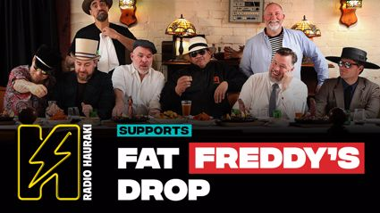Win tickets to Fat Freddy's Drop 'Trickle Down' Tour