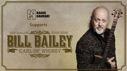 Win tickets to see Bill Bailey live