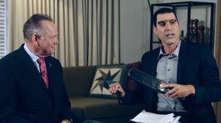 Sacha Baron Cohen humiliates politician with fake paedophile detector